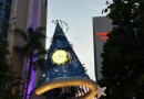 #Disneyland Hotel sorcerer hat as the sun is setting this evening