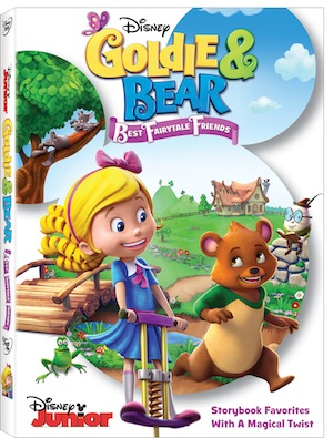 Goldie And Bear Best Fairytale Friends DVD