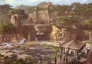 Star Wars – themed land Concept Art from Disneyland 60 TV Special (Disney Release)