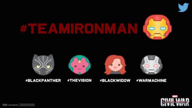 Captain America Civil War Emojis