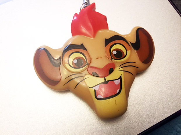 Lion Guard Backpack Clip