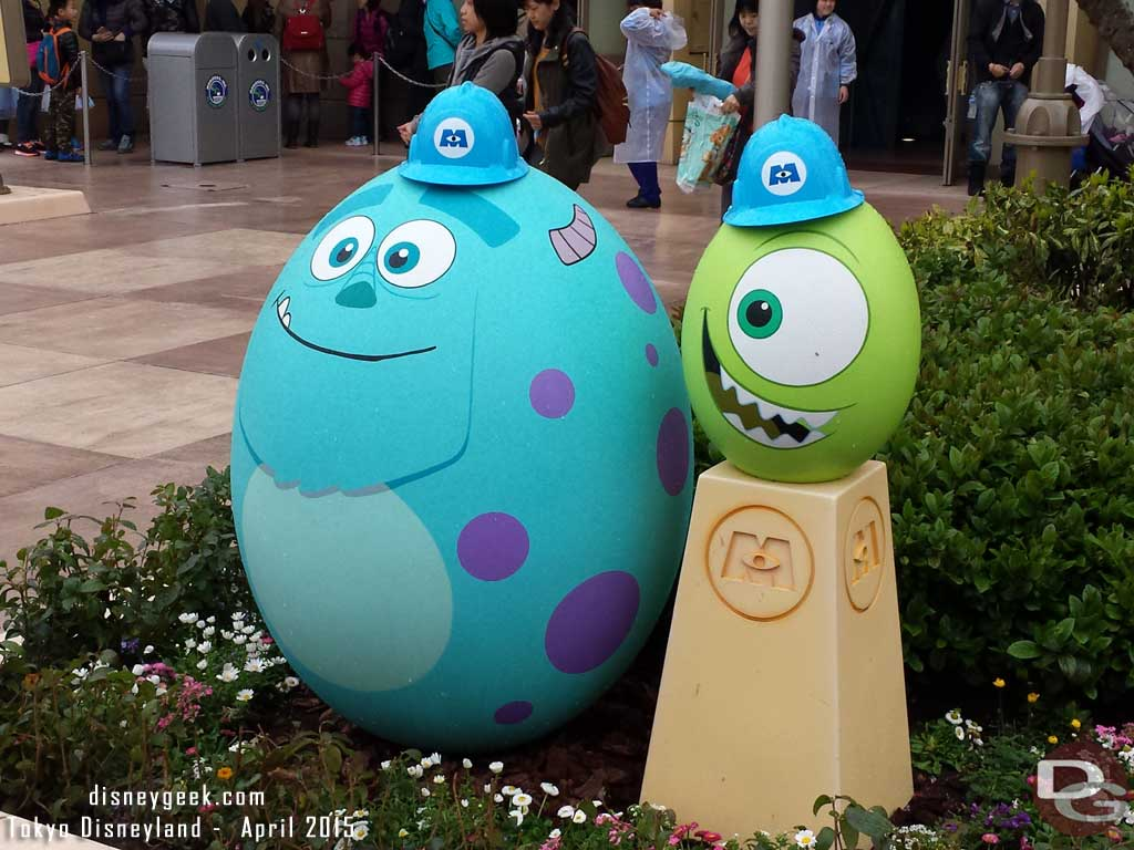 Mike & Sully Near Monsters Inc