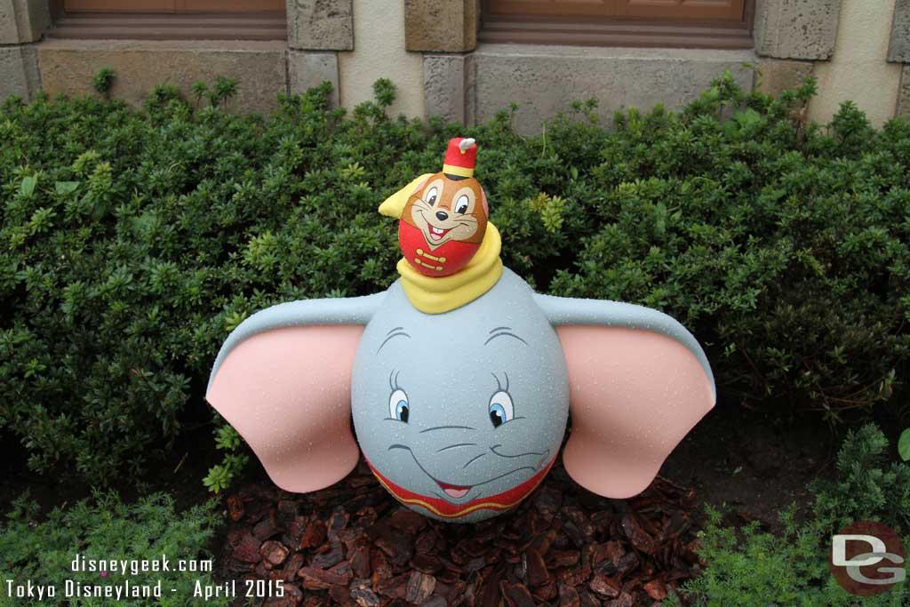 Dumbo & Timothy in Fantasyland