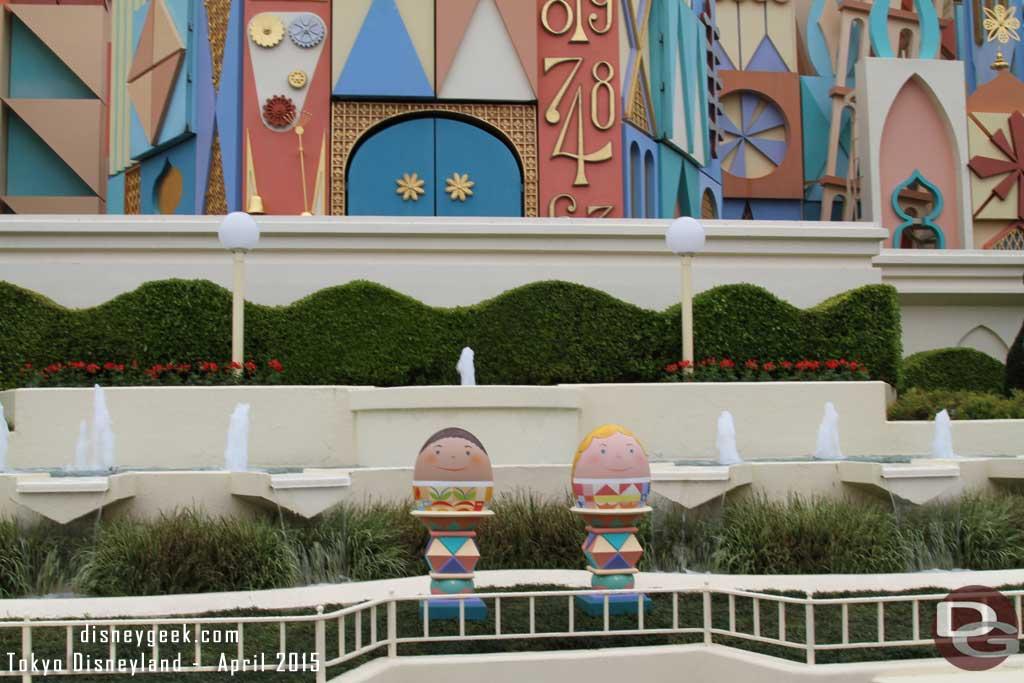 Tokyo Disneyland Egg Hunt - Small World