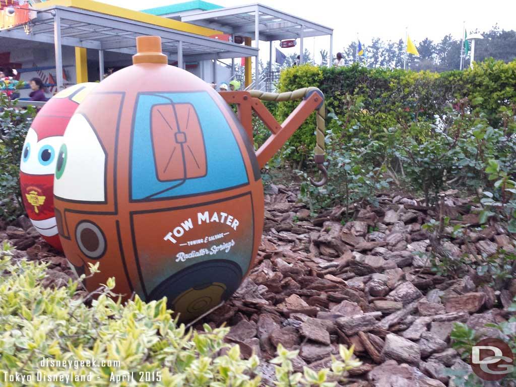 Tokyo Disneyland Egg Hunt - Mater