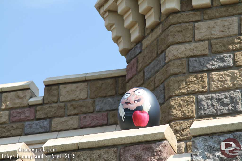 The Old Hag above Snow White's Adventures