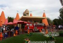 Red was at the Cozy Cone as I walked by #CarsLand