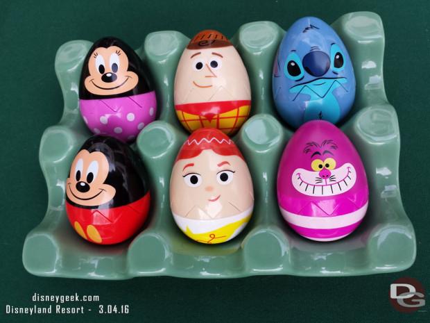 2016 Egg-Stravaganza @ Disneyland Resort - prizes