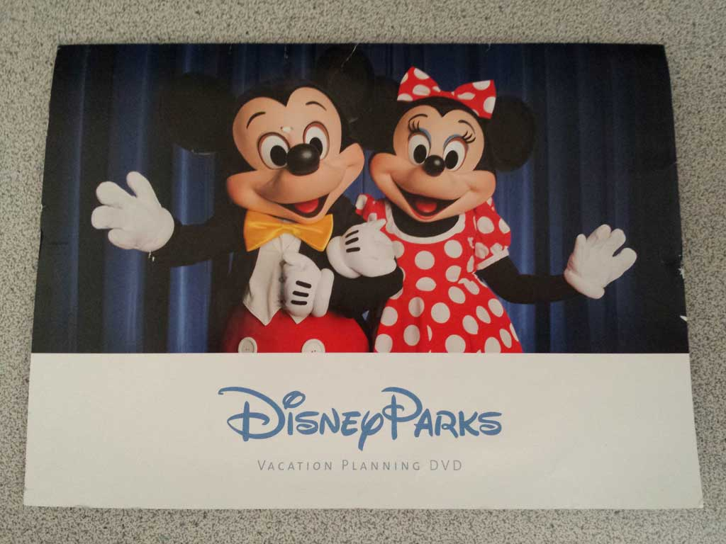 Disney Parks Planning DVD 2016