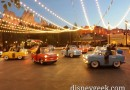 Luigi's Rollickin' Roadsters in #CarsLand doing the mambo