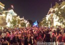 #Disneyland Main Street USA at 8:11pm
