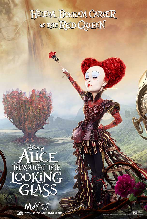 Alice Through the Looking Glass - Poster - Queen of Hearts