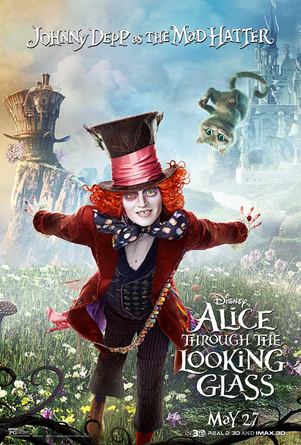 Alice Through the Looking Glass - Poster - Mad Hatter