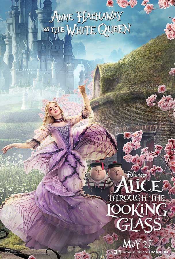 """Disney's """"Alice Through the Looking Glass"""" – New Trailer ... Tim Roth"""