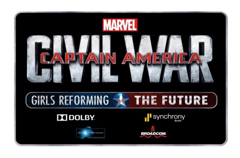 MARVEL'S CAPTAIN AMERICA: CIVIL WAR ­ GIRLS REFORMING THE FUTURE CHALLENGE