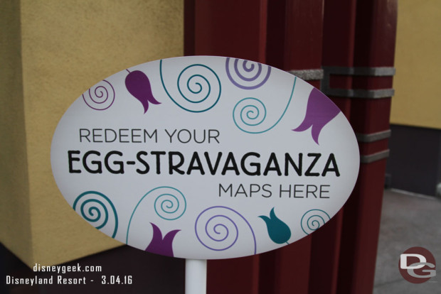 2016 Egg-Stravaganza @ Disneyland Resort - Sign