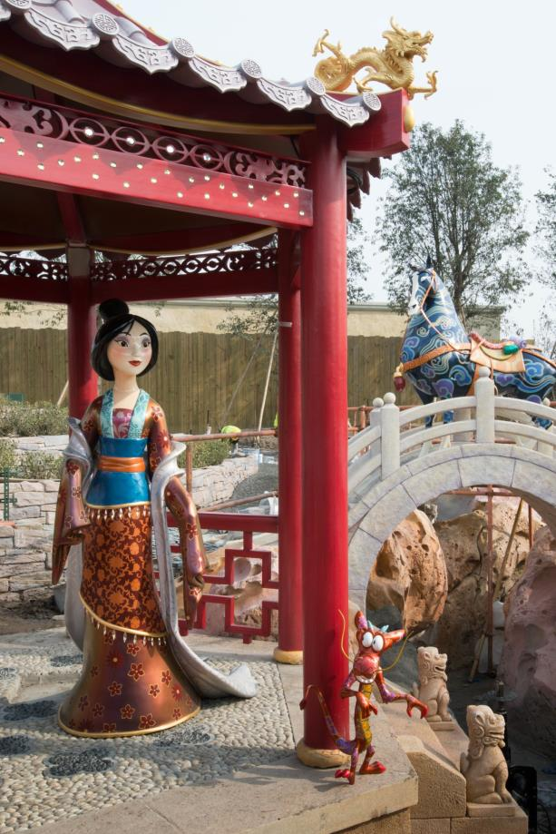 Mulan is one of the many classic stories that guests will discover while cruising the water aboard Voyage to the Crystal Grotto in Fantasyland.