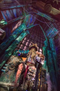 Guests will experience an all-new story with their favorite pirate characters, such as Davy Jones, aboard Pirates of the Caribbean: Battle for the Sunken Treasure. Action