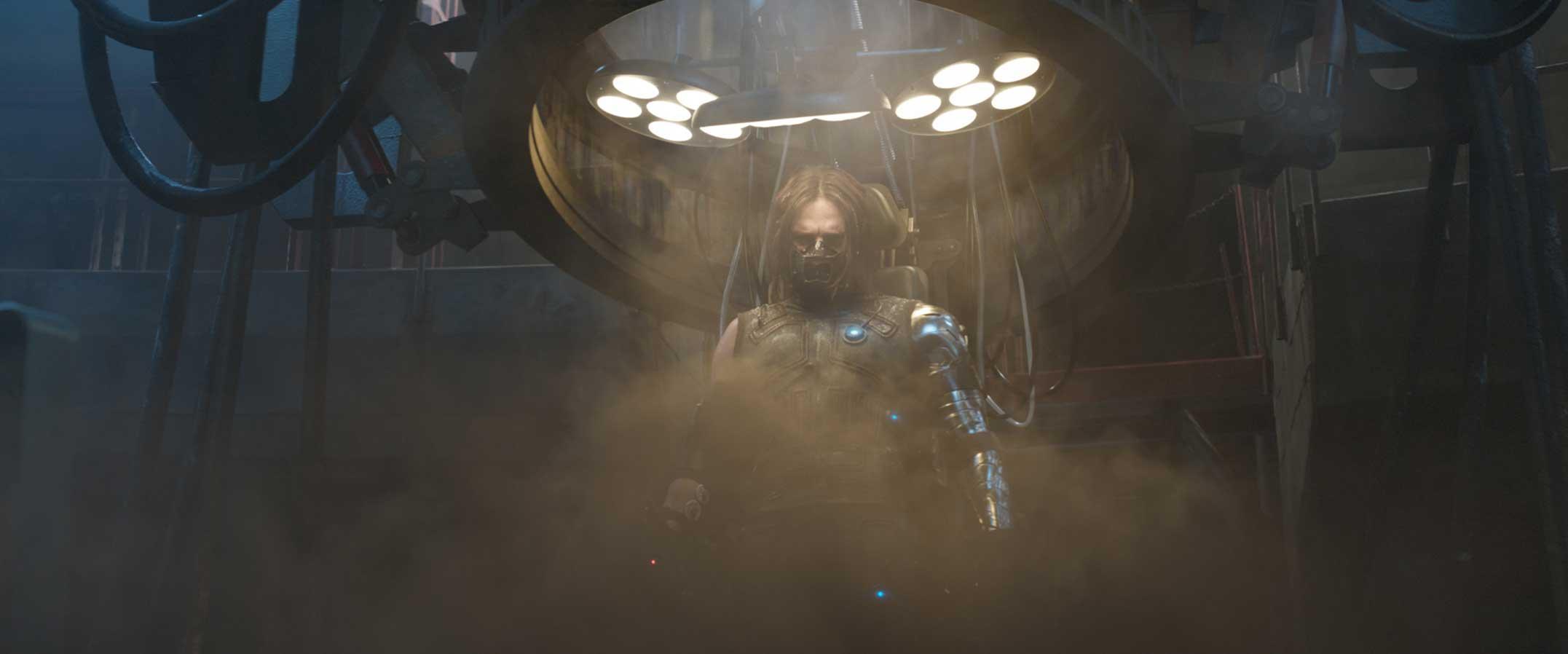 Marvel's Captain America: Civil War Winter Soldier/Bucky Barnes (Sebastian Stan) Photo Credit: Film Frame © Marvel 2016