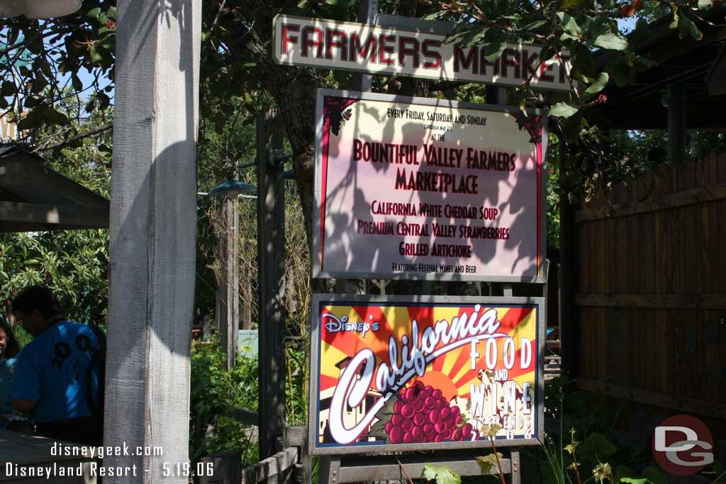 California Food & Wine Weekends - 2006