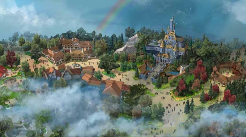 New Area of Fantasyland Overall View