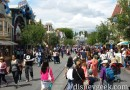 Main Street USA #Disneyland at 2pm