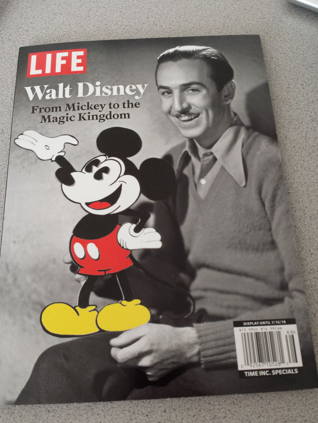 LIFE Walt Disney: From Mickey to the Magic Kingdom - Cover
