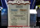 Just arrived at #Disneyland the closures for today
