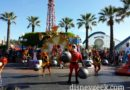 The Heros in Training team performs twice a day in Paradise Pier since the parade is on hiatus this month