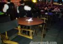#WorldOfColor Dessert Party – tables and chairs for the show