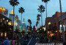 A Quick Evening Walk Around Disney's Hollywood Studios