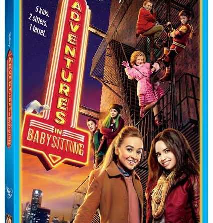 Adventures In Babysitting 2016 DVD