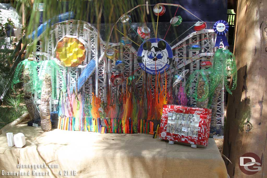 """Code """"R"""" At Paradise Pier - The Trash Can Kids - Paradise Pier Attractions, DCA"""