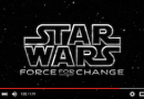 Star Wars: Force for Change Charitable Campaign Announcement (Disney News Release)