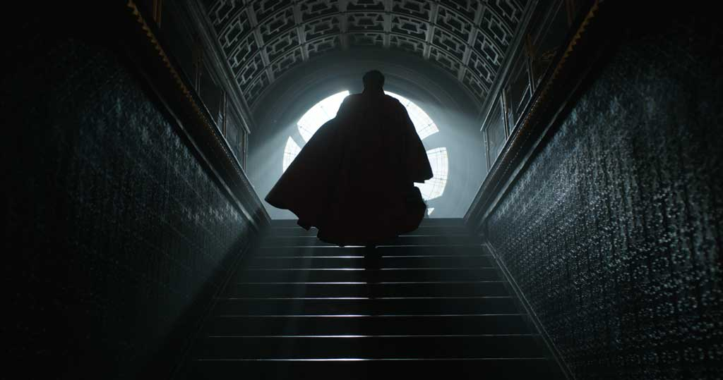 Marvel's DOCTOR STRANGE Doctor Stephen Strange (Benedict Cumberbatch) Photo Credit: Film Frame  ©2016 Marvel. All Rights Reserved.