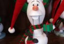 Olaf nutcracker in Parkside Antiques at Disney's Hollywood Studios