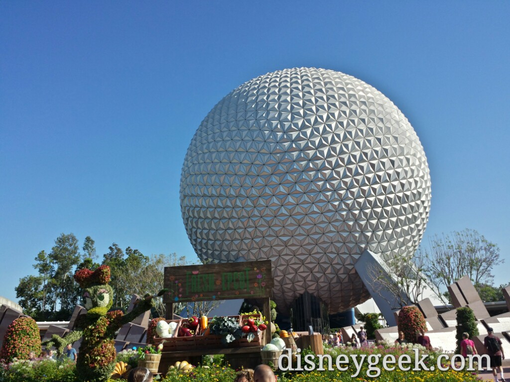 Epcot – Future World & China (several pictures)
