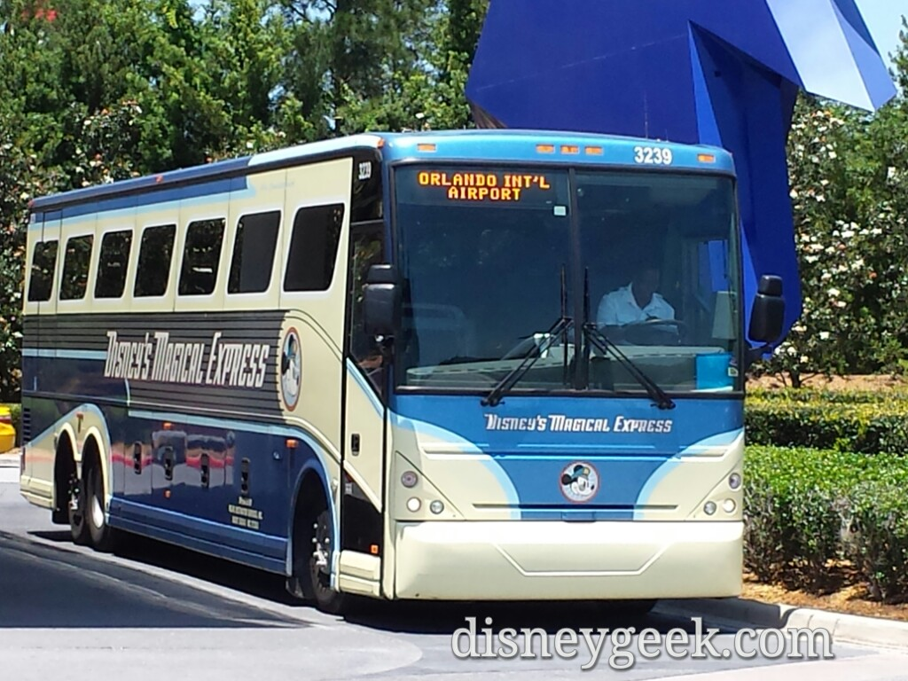 Disney's Magical Express Bus
