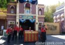 Hook & Ladder Co performing in Town Square @ #Disneyland