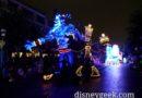 Genie & Lumiere in Paint the Night #Disneyland60
