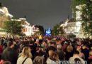 Waiting for #DisneylandForever on Main Street USA