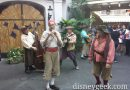 The Bootstrappers performing in New Orleans Square #Disneyland