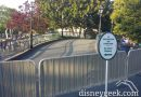 Pirates bridge is closed due to Treehouse work #Disneyland