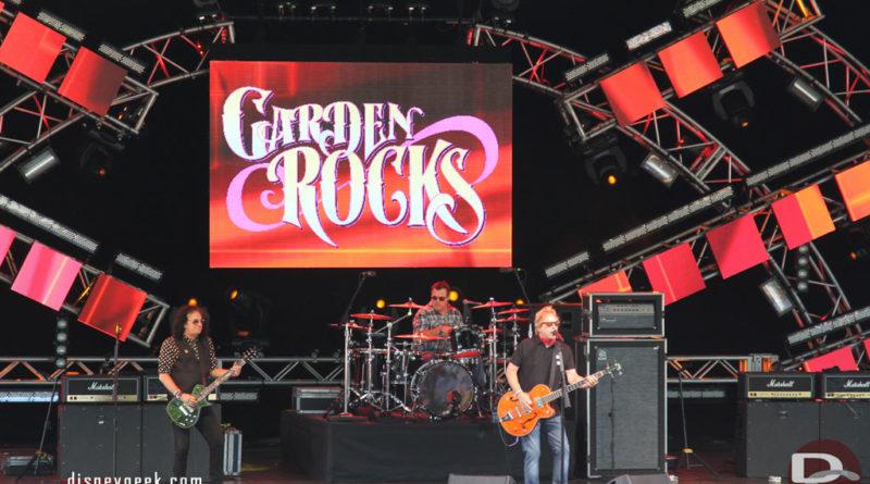 Georgia Satellites performing at #Epcot Garden Rocks this weekend