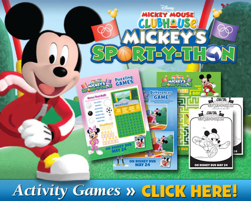 Mickey's Sport-y-thon Activities