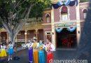 Dapper Dans of #Disneyland performing in Town Square