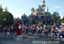 #Disneyland 2016 All American College Band in front of Sleeping Beauty Castle