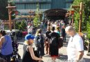 A Soarin theater is down so FastPass return is out to the main walkway