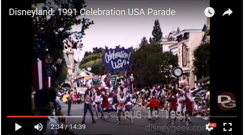 Disneyland Celebrate the USA
