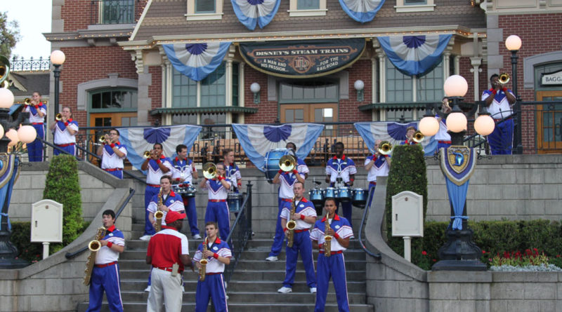Disneyland All American College Band 2016